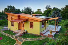 Sustainable hybrid timber-frame Mini Home