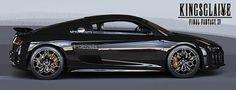 German supercar Audi R8 will have a CGI appearance in Final Fantasy XV.    #AudiR8 #FinalFantasyXV  #Kingsglaive