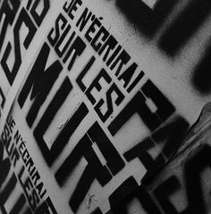pochoir #montreal #tetis #stencil #art #street