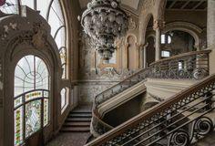 abandoned, casino, place, interior