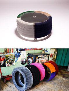 Miolab #DIY #recycle #tire