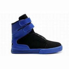 Supra TK Society High Tops Black/Blue Women's #shoes