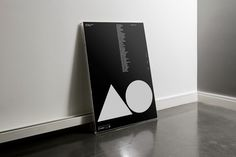 Nice poster #frame #white #agi #design #graphic #black #triangle #poster #open #circle #modernist #typography