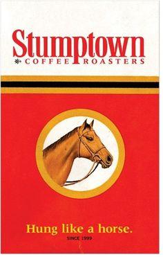Hallo Fritz / Stumptown Horse #horse #red #stumptown #vintage #poster