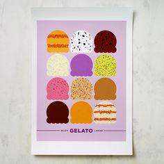 gelato #design #graphic