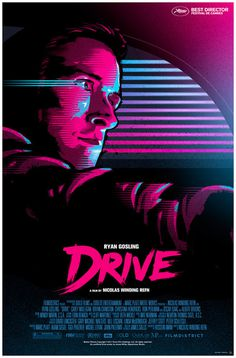 Drive Poster by James White #movie #white #signalnoise #cover #james #illustration #drive #poster #film