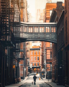 Stunning New York Street Photography by Bart Blachnio