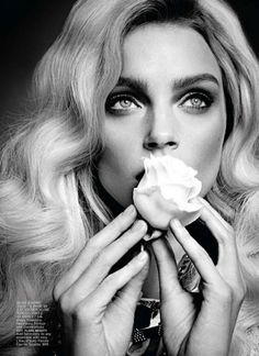 Sara Lindholm - leahc: Jessica Stam inFlare Magazine Jessica is... #flare #stam #photography #jessica #fashion #magazine