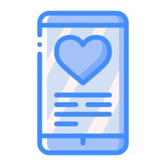 See more icon inspiration related to love and romance, valentines day, touch screen, mobile phone, smartphone, love, cellphone, iphone and technology on Flaticon.