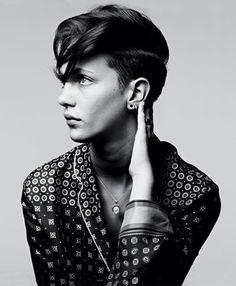 Women's Fashion - T Magazine - The New York Times #hair #black and white #photo #hedi slimane #photo #b&w