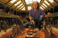 100+ Miniature Movie Sets By Dan Ohlman Show Cinematography Before CGI