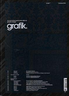 Grafik #cover #magazine #grafik
