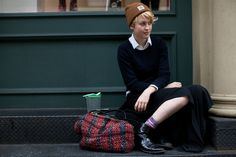If You're Thinking About……. Girls in Carhartt « The Sartorialist #carhartt #photography #style