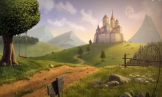 Fantasy Forest Kingdom Wallpaper For Pc In Hd – WallpapersBae