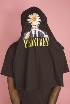 pleasures t-shirt collage print fashion