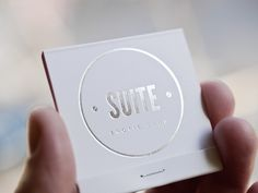Suite. Erotic shop on the Behance Network #logo #card #business
