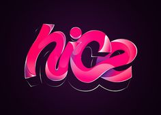 FFFFOUND! #pink #nice #little #works #type #typography