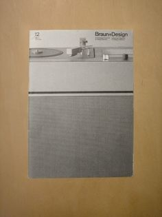 Braun+Design 12 (via Alphanumeric.) #products #design #graphic #des #braun #magazine