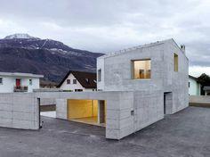 Maison Fabrizzi by Savioz Fabrizzi Architectes #architecture #interior #design #ideas