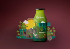 Nutricane - Packaging Design on Behance
