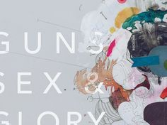 Guns Sex & Glory on the Behance Network #packaging #design #illustration #colors #cd