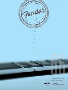 Fender poster 2 #guitar #fender #poster
