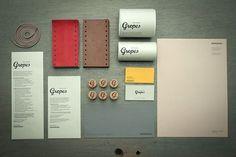Designspiration — Gropes | Identity Designed #layout #identity #branding