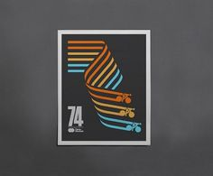 Cycling Posters by Caleb Kozlowski | WE AND THE COLOR