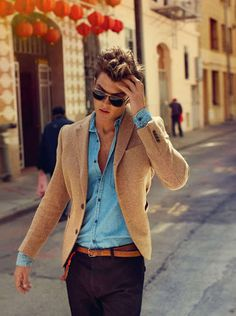 Likes | Tumblr #fashion #mens #blazer #style