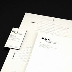 DLA on the Behance Network #stationary #design #graphic #borzk #identity #mrton