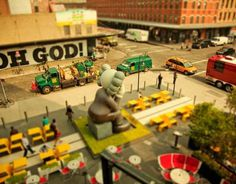 Tilt Shift Photography by Ben Thomas