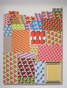 Barry McGee, Untitled, 2012 | Prism #art #painting #pattern