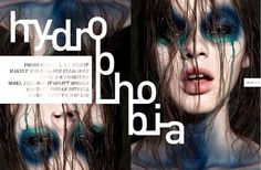 Hydrophobia | Volt Café | by Volt Magazine #beauty #design #graphic #volt #photography #art #fashion #layout #magazine #typography