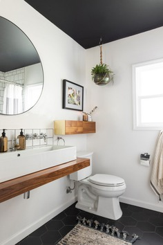 Bathroom of the Week: An Open Feeling in 55 Square Feet