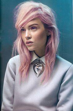 pastel+pink+hair+color.jpg (422×640)