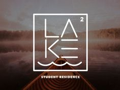 The Lake – Concept Logo for a Student Residence in Northern Ontario. #logo design #identity #logo type