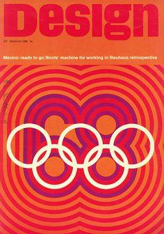 Mexico 68 Olympics identity #olympics