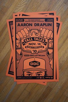 Draplin! #screenprint #draplin #french #poster #paper