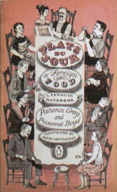 Penguin Books - Plats du Jour: Foreign Food #covers