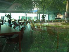 Stadsdeelwerf (public works yard) Zuideramstel #claus #& #glass #architecture #reflection #kaan
