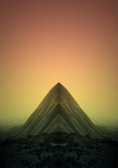 Pale Grain THE PEAK #limited #mountain #edition #dune #print #mirror #sand