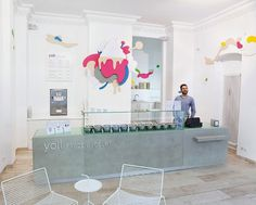 Yoli Frozen Yogurt / Amseldrossel | Design - Architecture - Blog / Magazine / Webzine - Inspiration / Tendance #architecture