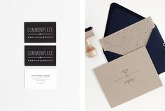 Commonplace by Rowan Made #graphic design #stationary