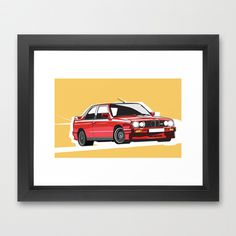 Epsilon Precision Cars #frame #vector #car #society6