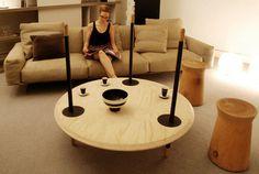 Concept Reversible Table Furniture #interior #design #decor #home #furniture #architecture