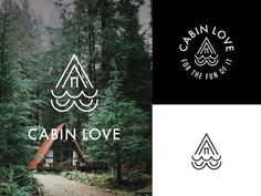 Cabin Love Logo Mock A