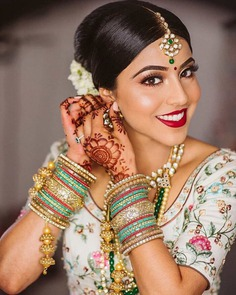 lip makeup for dulhan