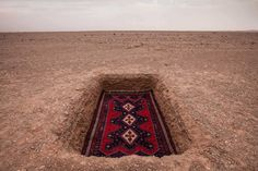 Jalal Sepehr Combines Fine Art Photography and Persian Rugs