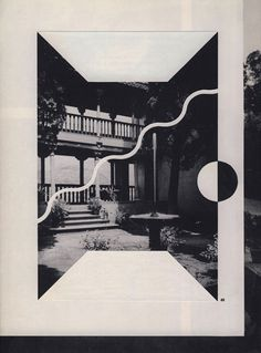 Louis Reith #collage #graphic #b&w
