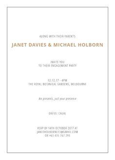 Scripty - Engagement Invitations #paperlust #engagementinvitation #engagementcard #engagementinspiration #design #paper #digitalcards #foil